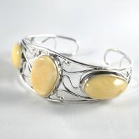 bransoleta z bursztynu #14