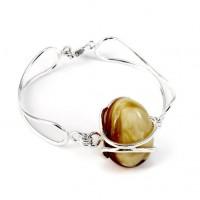 bransoleta z bursztynu #18