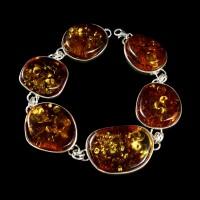 bransoleta z bursztynu #23