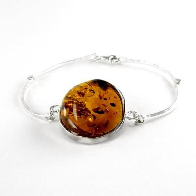 bransoleta z bursztynu #37