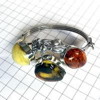 bransoleta z bursztynu #1 Regio