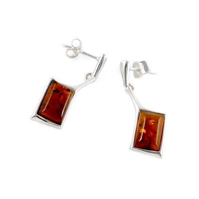 amber earrings #1