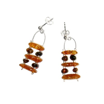amber earrings #21