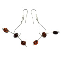 amber earrings #22