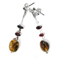 amber earrings #24