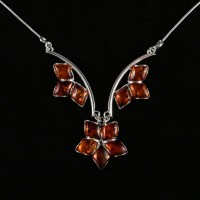amber necklace #3