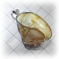 pendant with amber #5